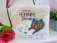 Прокладки гигиенические Secret Day Sense Large 10 шт. (28, 5 см), фото 1