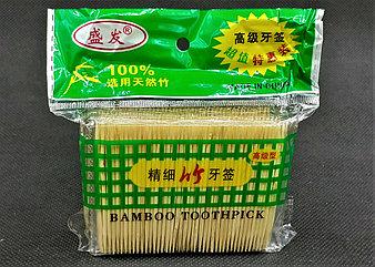 "Зубочистки ""BAMBOO TOOTHPICK"" в упаковке 5"