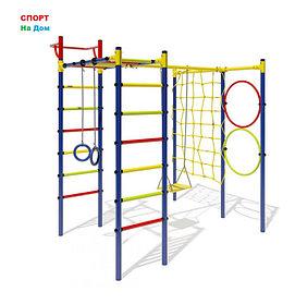Детский спорткомплекс Маугли - 15-01 1,65м качели+сетка
