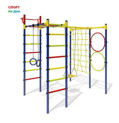 Детский спорткомплекс Маугли - 15-01 1,65м качели+сетка, фото 2