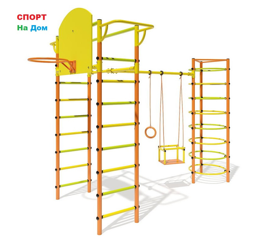 Детский спорткомплекс Маугли - 11-01 2м качели+кольца