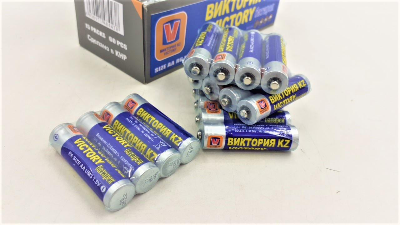 """Батарейка """"Виктория"""" в упаковке 12 шт"""