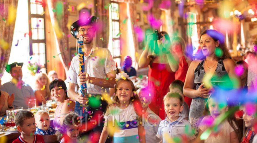 Музыкальное оформление на детские праздники