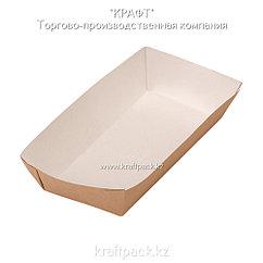 Лоток для картофеля фри,хот-догов (Ламинированный) 220*115*42 (Eco Tray 800) DoEco (300)