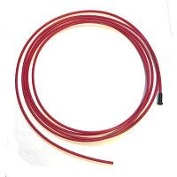 Проволокопровод(лайнер) PTFE д. 1.0-1.2 мм. 3 м. для алюминия