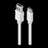 Кабель ACME CB1041W USB type C - USB type A cable, 1m White