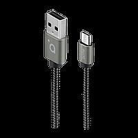 Кабель ACME CB2011G micro USB cable, 1m Grey