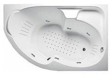 Акриловая гидромассажная ванна Диана 160х100х65 см.(Общий массаж, спина, ноги), фото 2