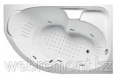 Акриловая гидромассажная ванна Диана 160х100х65 см.(Общий массаж, спина, ноги,дно), фото 3