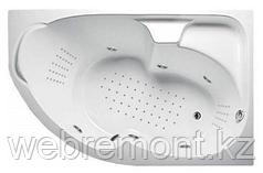 Акриловая гидромассажная ванна Диана 160х100х65 см.(NANO)