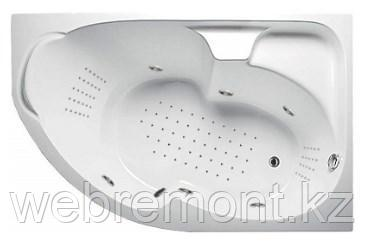 Акриловая гидромассажная ванна Диана 160х100х65 см.(NANO), фото 2