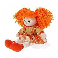 Кукла Апельсинка в клетчатом платье , 30см