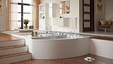 Акриловая гидромассажная ванна Ассоль 160х100х68 см.(Общий массаж), фото 3