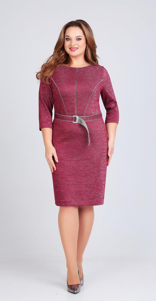 Платье Ксения стиль-1719, розовый, 50
