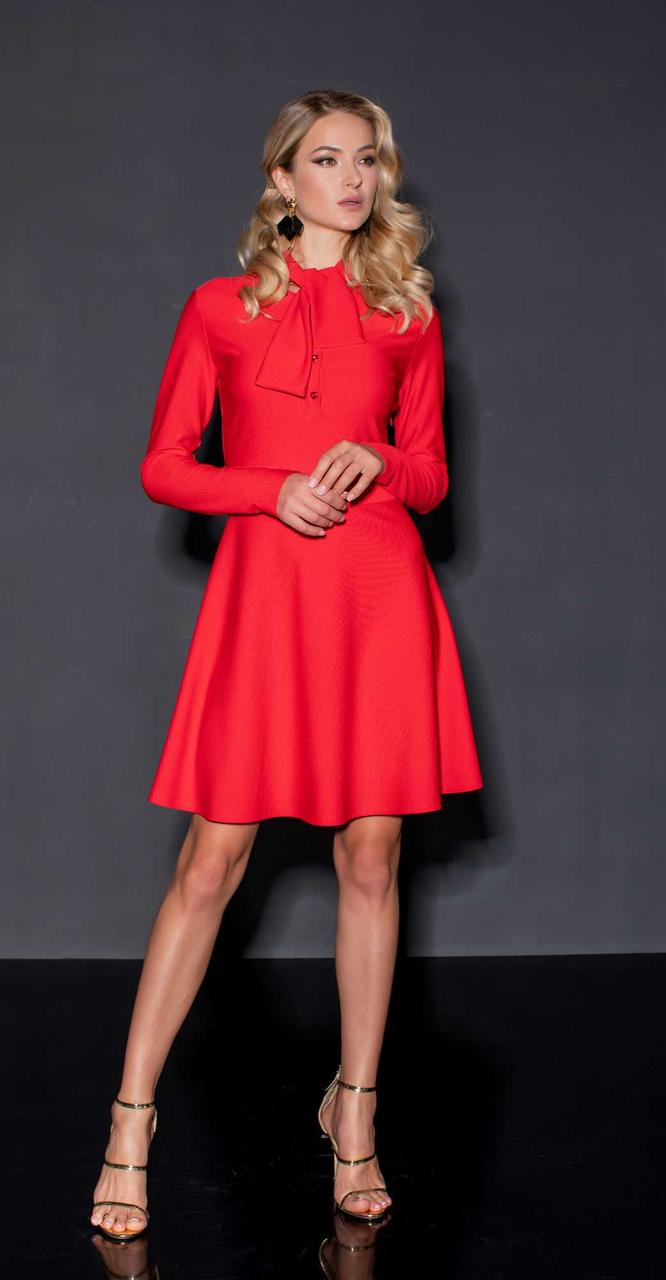 Платье Vesnaletto-2229-2, красный, 42