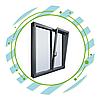 Распашные алюминиевые окна