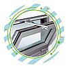 Откидные алюминиевые окна