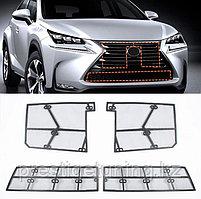 Защитная маскитная сетка под решетку на Lexus NX 2017-