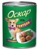 Оскар 970гр Тефтели в соусе Консервы для собак
