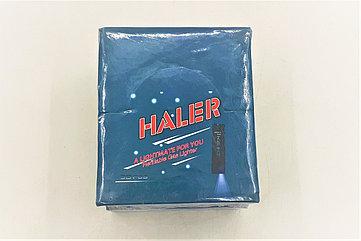 "Зажигалка""HALER"" с фонариком 50шт"