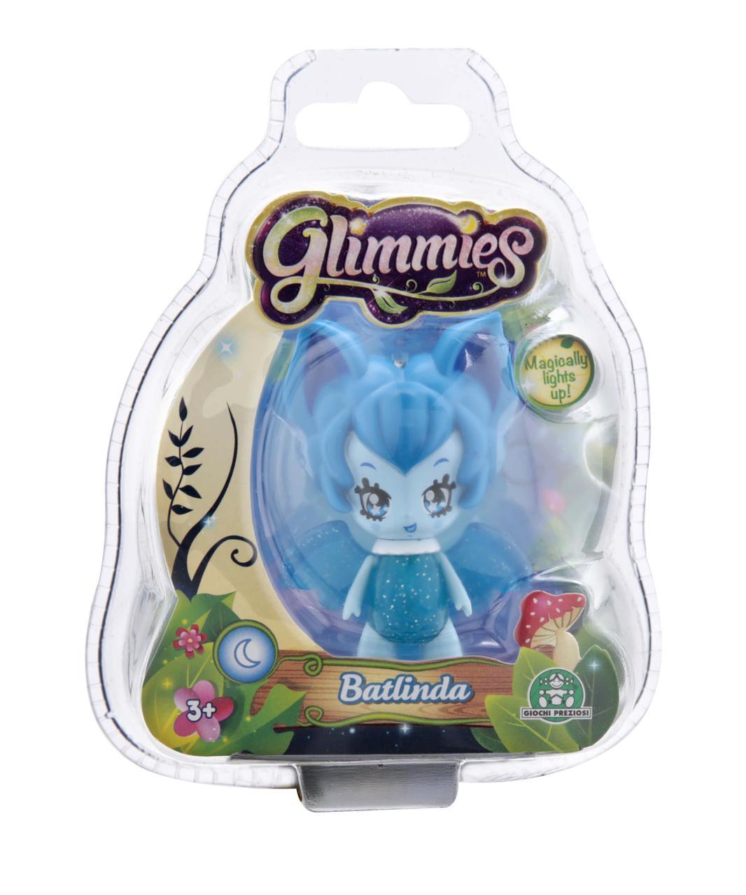 Кукла Glimmies Batlinda 6 см, в блистере