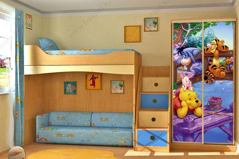 Шкаф в детскую ДШ-12