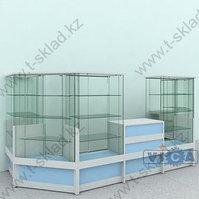 Пристенный павильон БРИЗ  -  7,3 м/кв