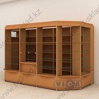 Пристенный павильон из витрин - 7,7 м/кв