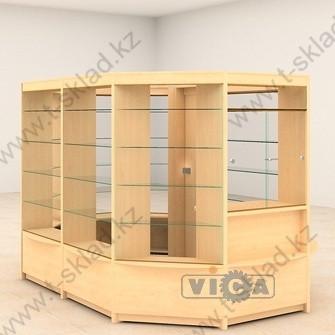 Островной павильон из витрин - 6,7 м/кв