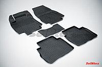Резиновые коврики для Nissan Tiida 2004-2014