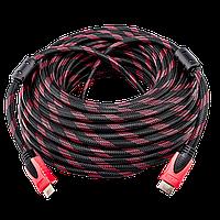 Кабель HDMI  20m  в оплетке