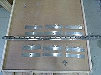 Планка (крепление) для ПВХ штор 6 подвесок, фото 1
