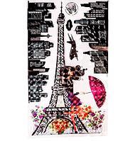 Наклейки 5D для декора интерьера «Эйфелева башня» GG-001 (GG-001)