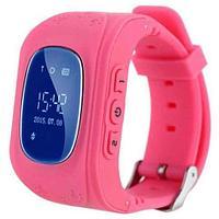 Умные часы для детей с GPS-трекером Smart Baby Watch Q50 (Розовый)