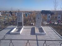 Мраморный памятник ( 1200*450*75)