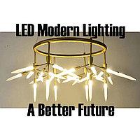 Круглая LED люстра на 30 ламп в стиле Post-Modern