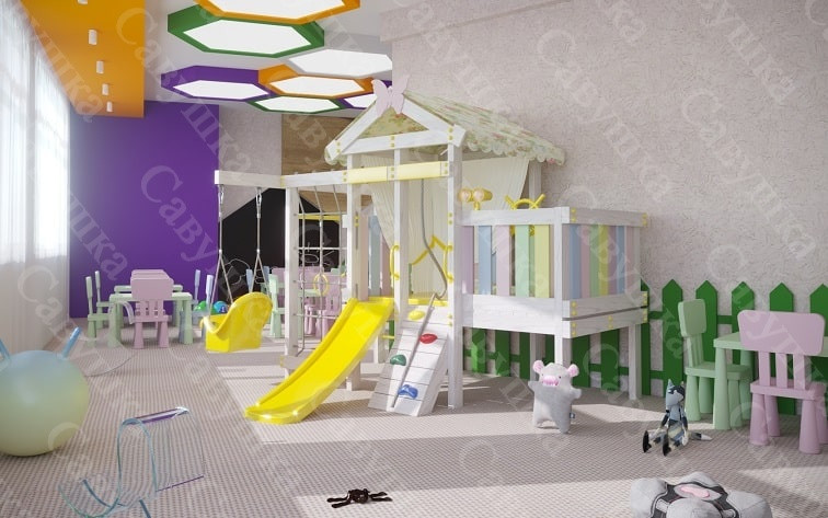 Детская игровая зона Baby 6