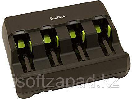 Зарядное устройство с 4 слотами для аккумуляторов Zebra DS3678, фото 2