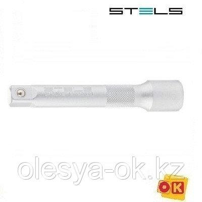 Удлинитель 150 мм, 1/4, CrV STELS 13903