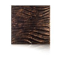 Декоративные панели 3D VERGE Волна, Трюфель, 500х500 мм Казахстан