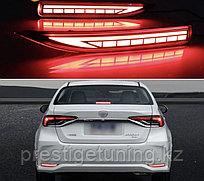 Катафоты LED на Corolla 2019- (вар.1)