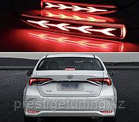 Катафоты LED на Corolla 2019- (вар.2)