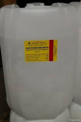 Уксусная кислота хч бут.1 литр