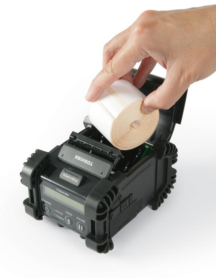Переносные принтеры печати этикеток TOSHIBA B-EP2DL