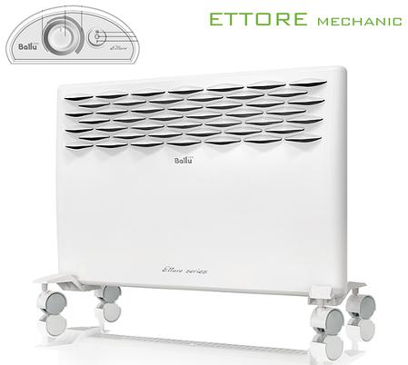 Электрические конвекторы Ballu: BEC/ETMR 1000 (серия Ettore Mechanic), фото 2