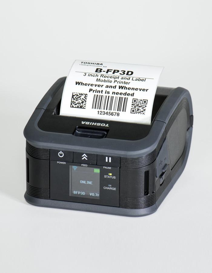 Принтеры печати этикеток TOSHIBA B-FP3D