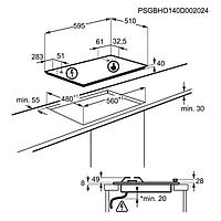 Встраиваемая варочная панель Electrolux GPE263MX, фото 3