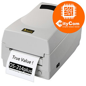 Принтер для этикеток ARGOX OS-214 plus термотрансферный, маркировочный для штрих кодов, ценников Арт.1478