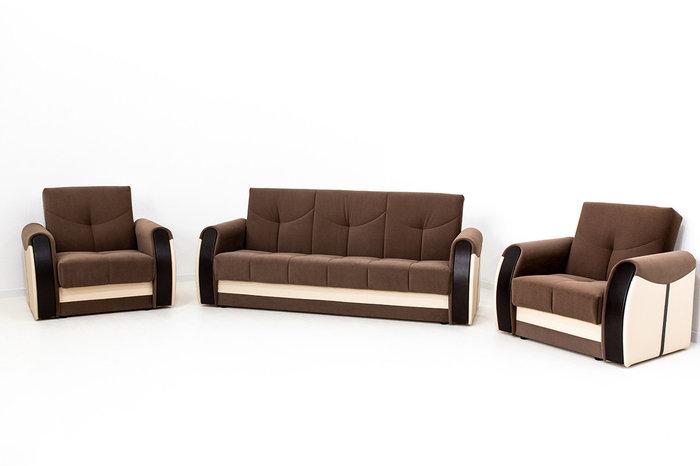 Комплект мягкой мебели Сиеста 4, Коричневый, АСМ Элегант(Россия)