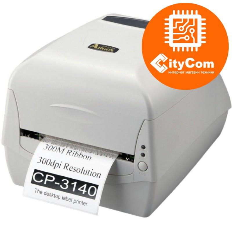 Принтер этикеток  ARGOX CP-3140 термотрансферный, маркировочный для штрих кодов, ценников Арт.1477